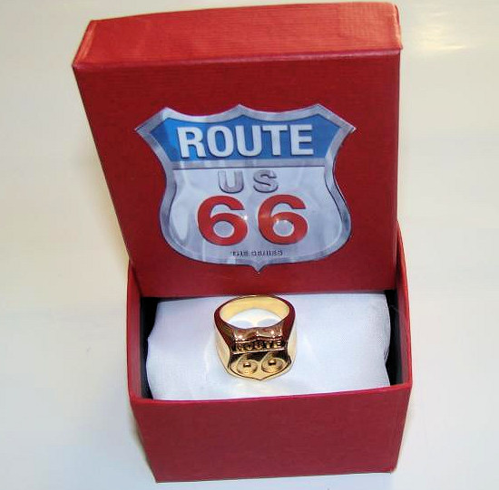 Bague Route 66